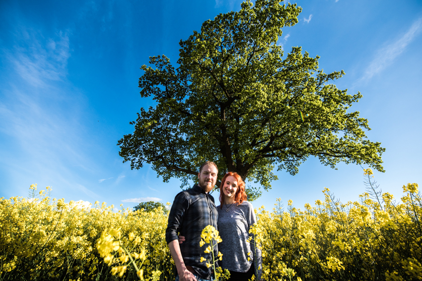 Rapeseed Field Engagement Shoot