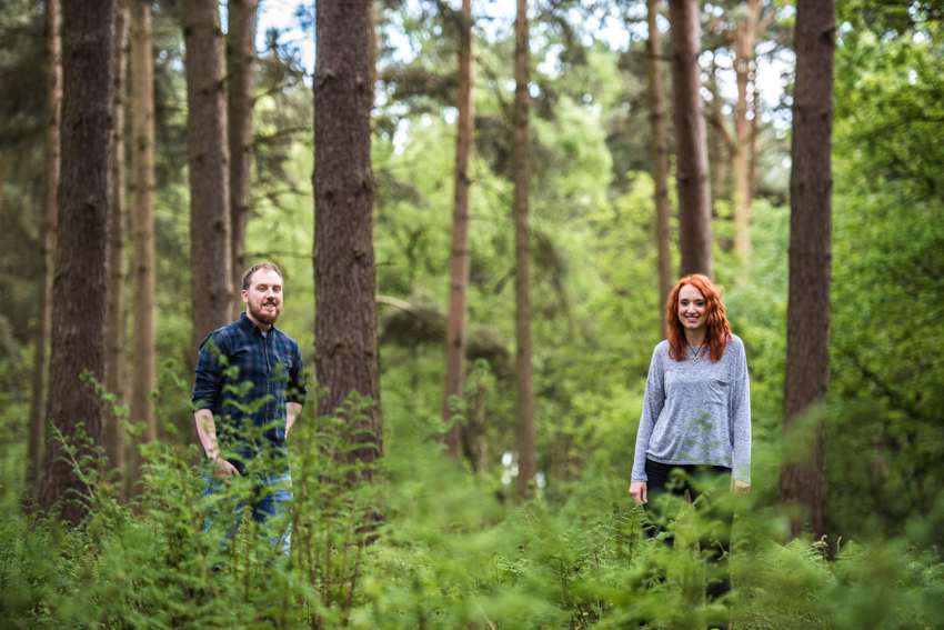 Hanchurch Woods Engagement Shoot