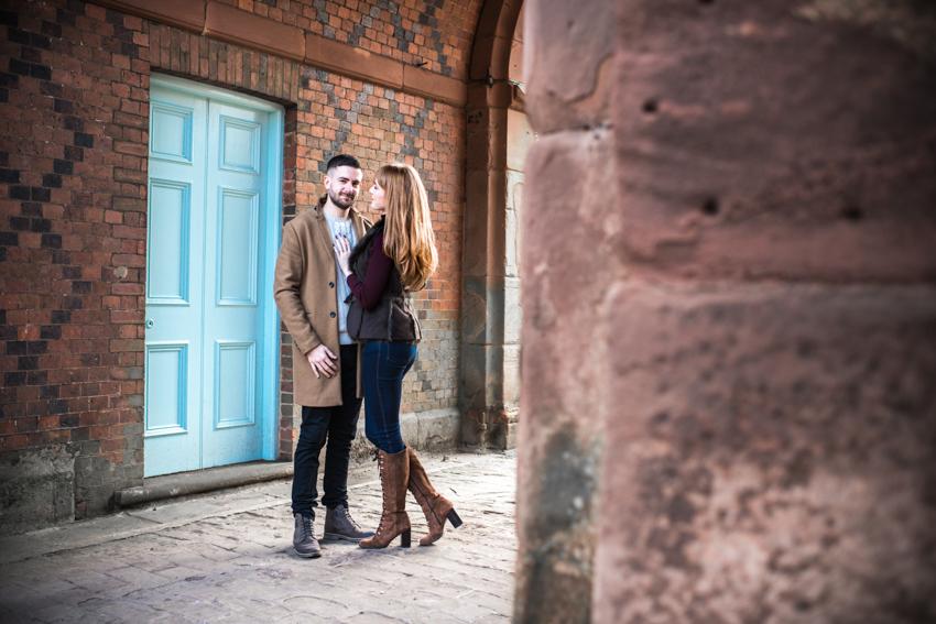 Keele Hall Engagement Shoot