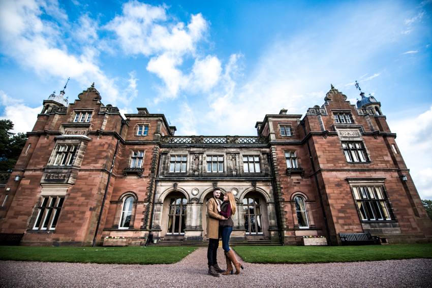 Keele Hall Engagement Shoot