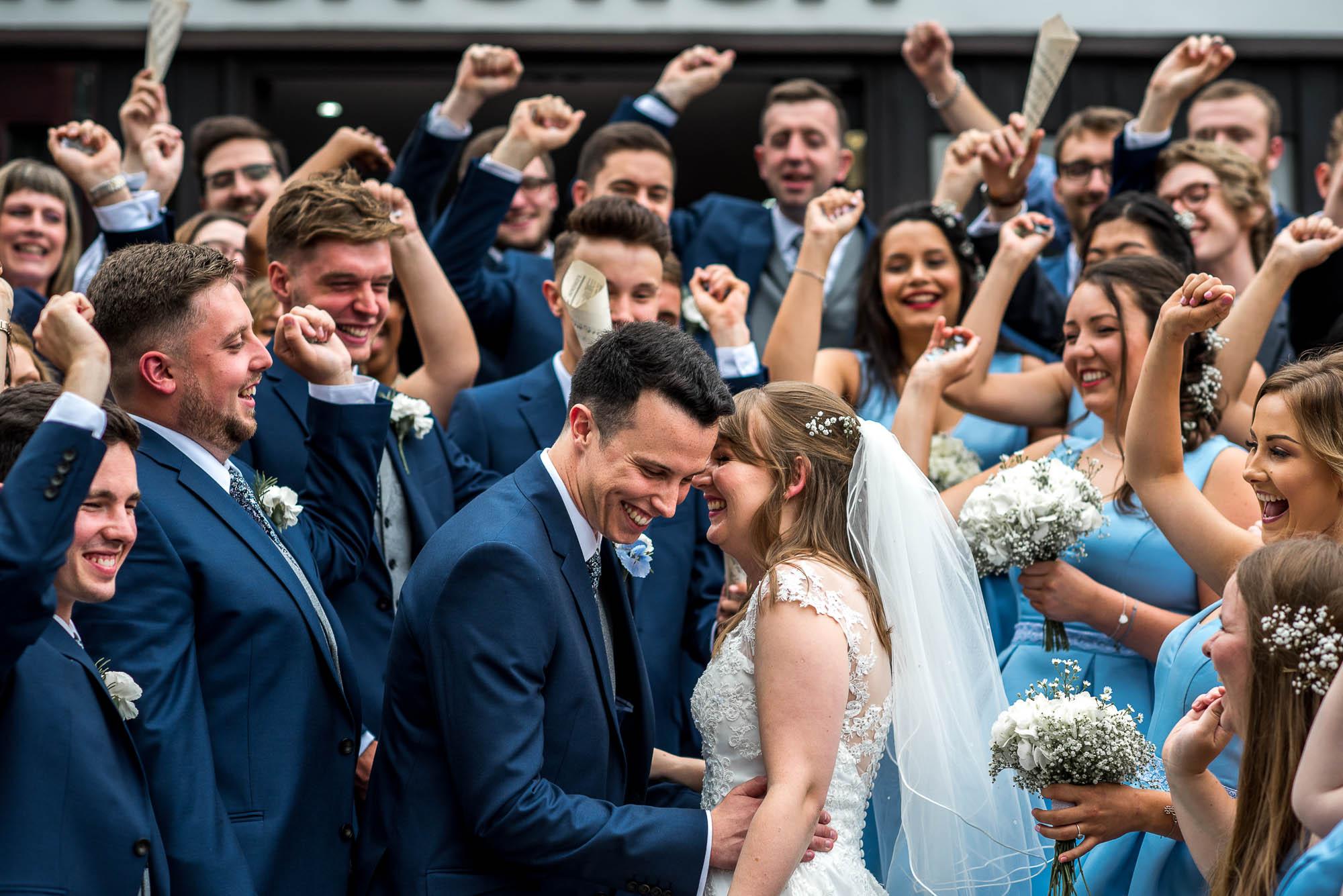 Aston Marina Wedding Confetti Adam Lowndes Photography Staffordshire Wedding Photography